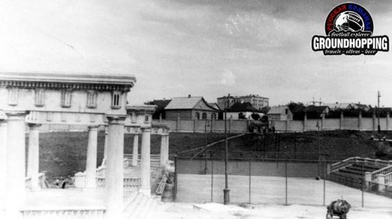 Июнь 1957 10-1 корт возле запасного поля